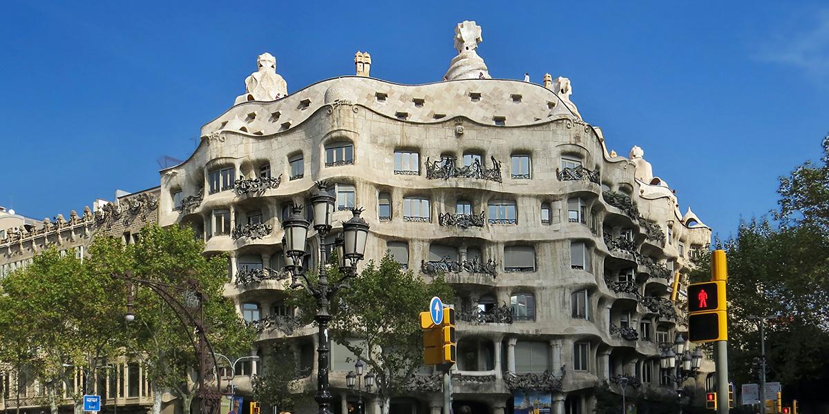 La Casa Milà de Gaudi dans le top 10 des plus beaux bâtiments du monde